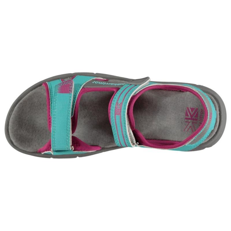 Karrimor Cayman Sandals Juniors Blue/Green