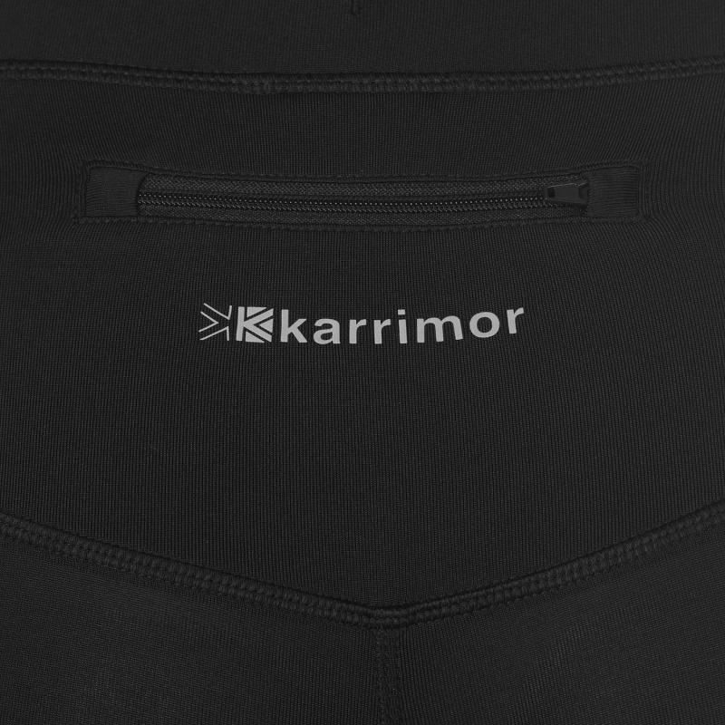 Karrimor Run Capri Tights Ladies Black/Pink