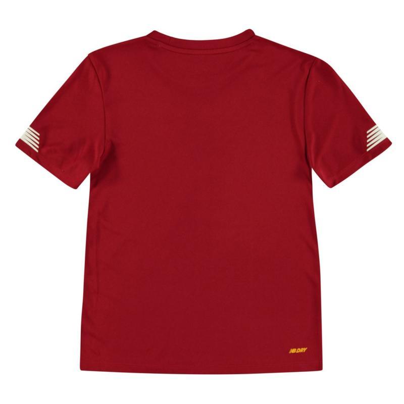 Tričko New Balance Liverpool Pre Match Shirt 2019 2020 Junior Red Pepper