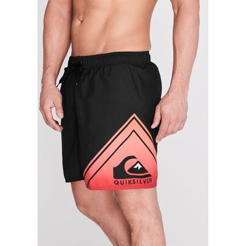 Plavky Quiksilver Wave One Boardshorts Mens Black