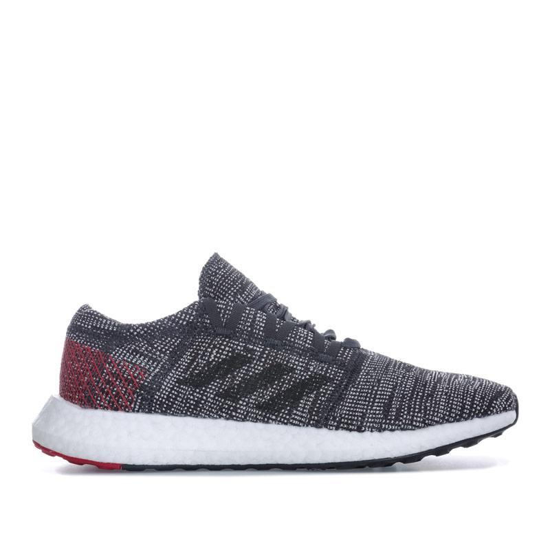 Adidas Mens PureBOOST Go Trainers Black Grey