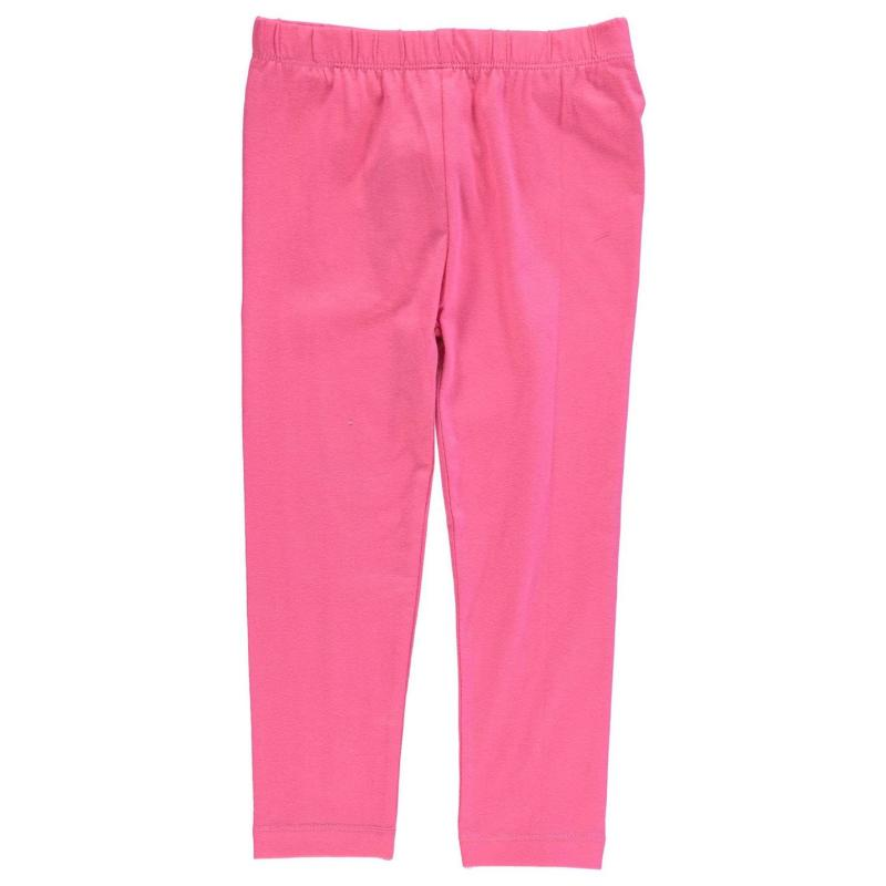 Crafted Essentials Basic Leggings Child Girls Charcoal