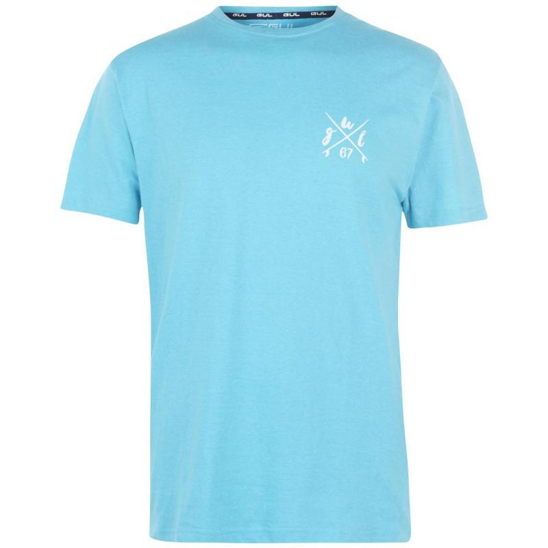 Tričko Gul Mens Logo T-Shirt DL Blue