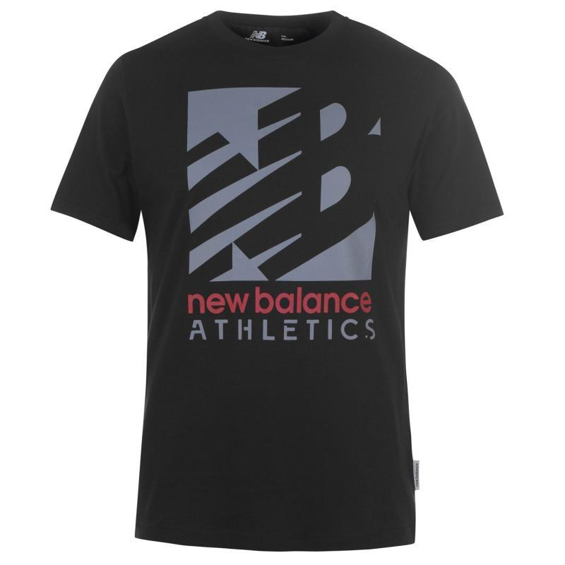 Tričko New Balance Mens Knockout T-Shirt Black