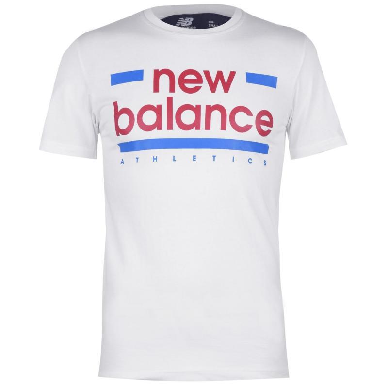 Tričko New Balance Mens Line T-Shirt White