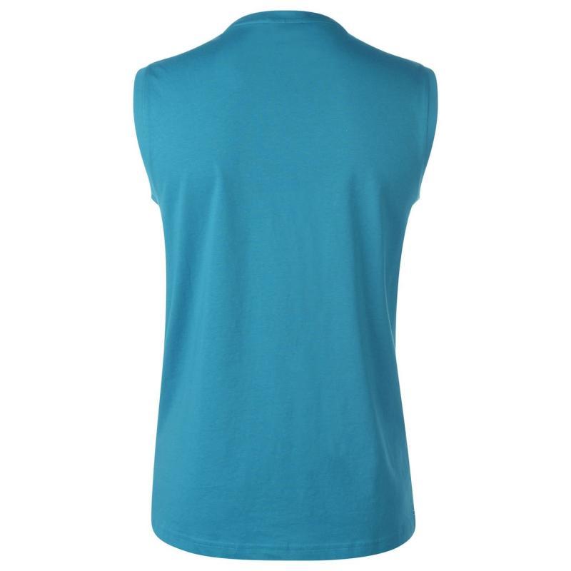 Tílko Slazenger Sleeveless T Shirt Mens Teal