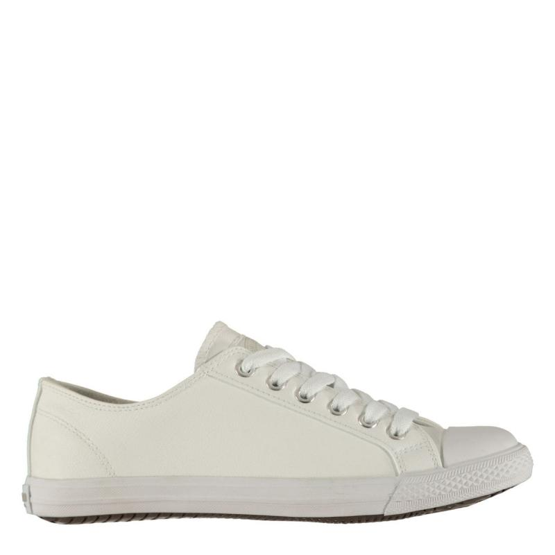Obuv SoulCal Micro Lo Ladies Trainers White