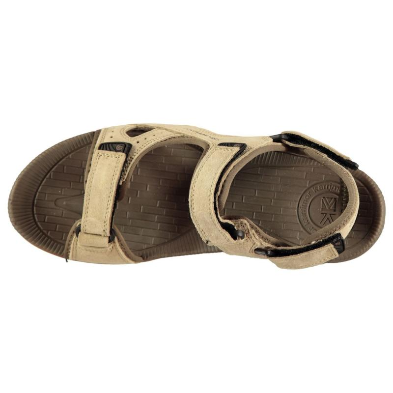 Karrimor Antibes Leather Mens Walking Sandals Beige