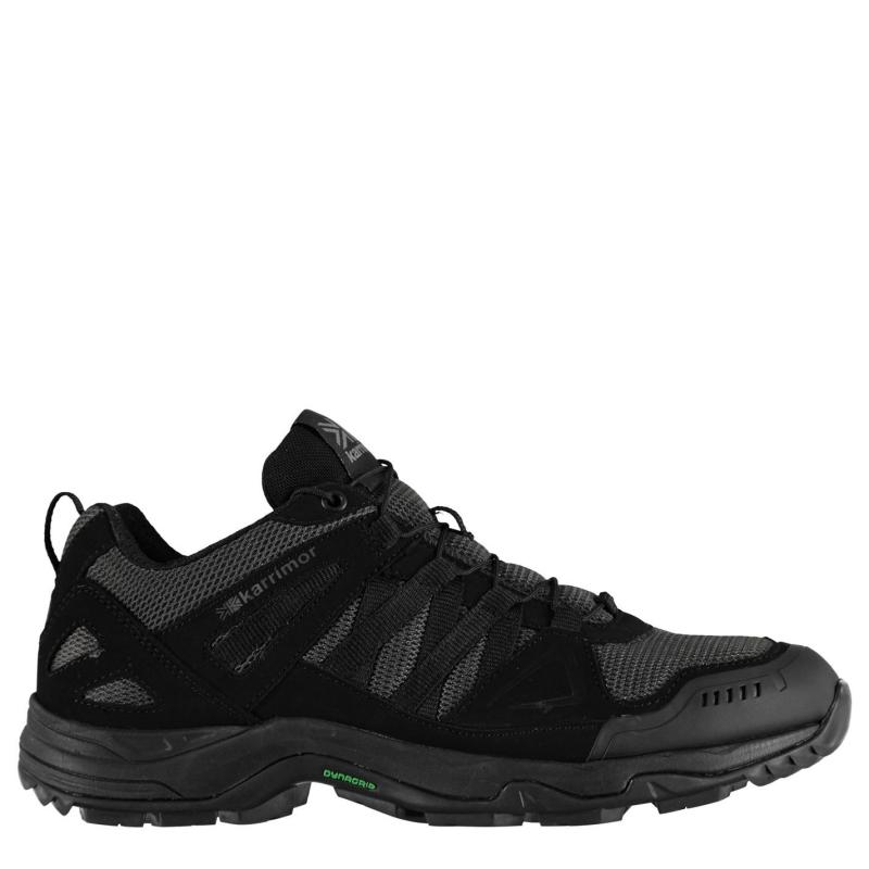Karrimor Surge Low Mens Walking Shoes Charcoal