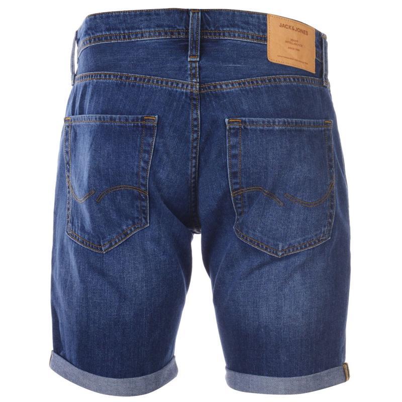 Jack and Jones Jeans Intelligence Rick Denim Shorts Dark Wash 823
