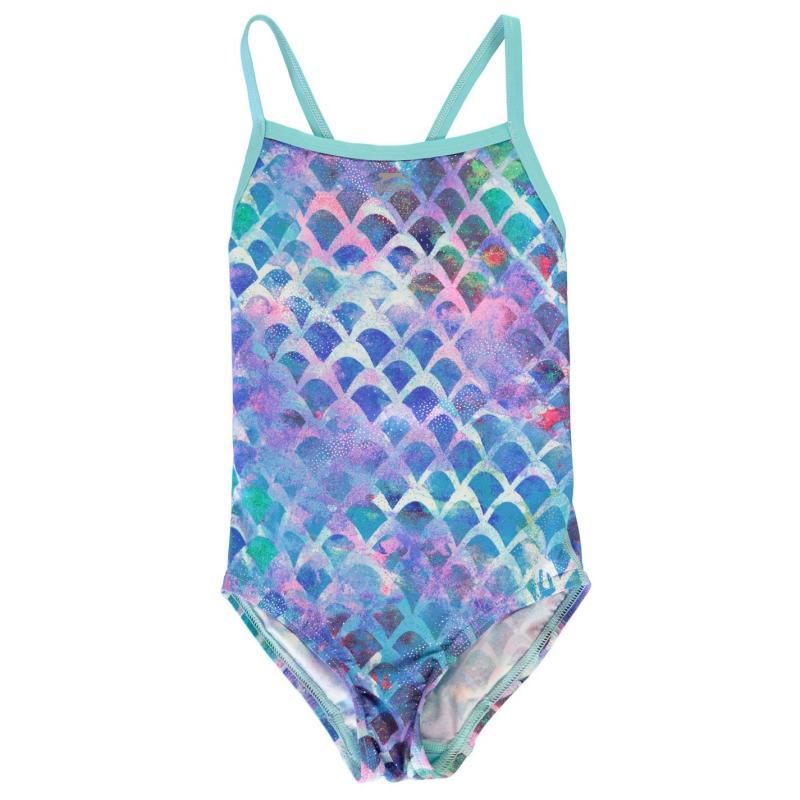 Slazenger Mum & Me Swimsuit Girls Mermaid