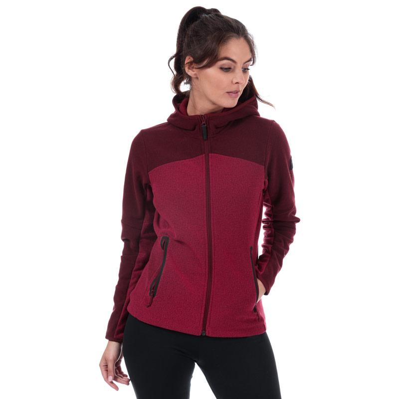 Helly Hansen Womens Vanir Fleece Jacket Red