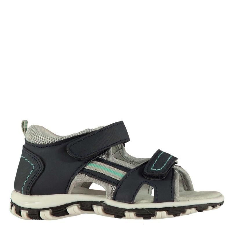 Boty SoulCal 2 Strap Trek Infant Boys Sandals Navy