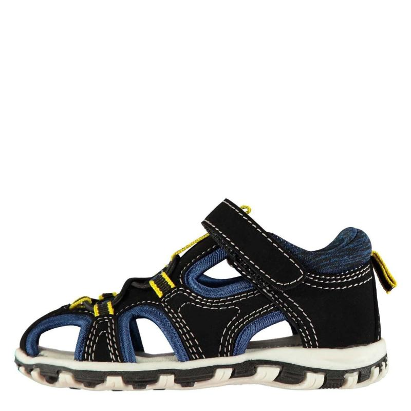 Boty SoulCal Cage Trek Infant Boys Sandals Black