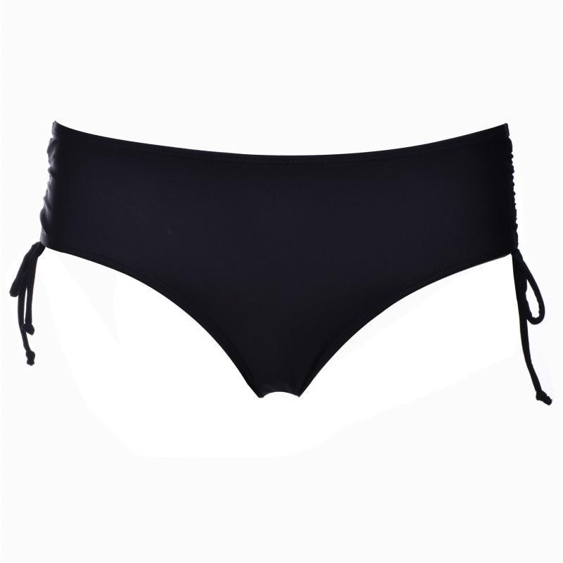 Plavky SoulCal Lace Halter Briefs Ladies Black