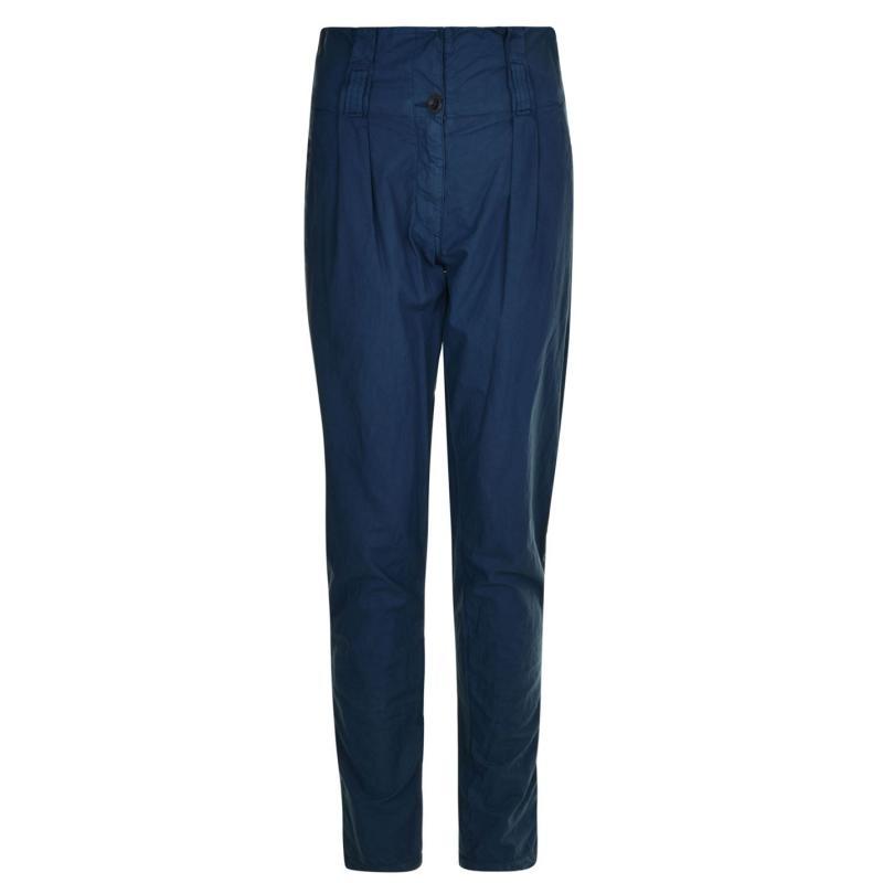 Kalhoty BELSTAFF High Waisted Cargo Trousers Asphalt