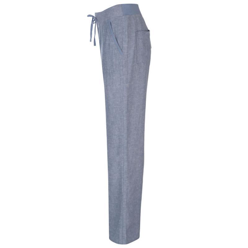 Kalhoty Full Circle Linen Trousers Ladies Denim