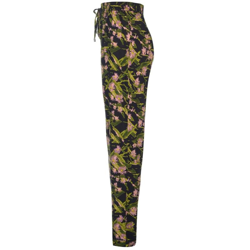 Kalhoty Golddigga AOP Pants Ladies Green AOP