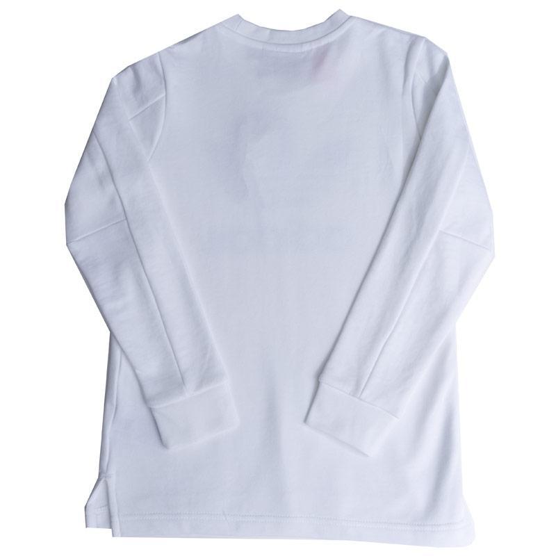 Tričko Adidas Originals Junior Boys Trefoil Long Sleeve T-Shirt White