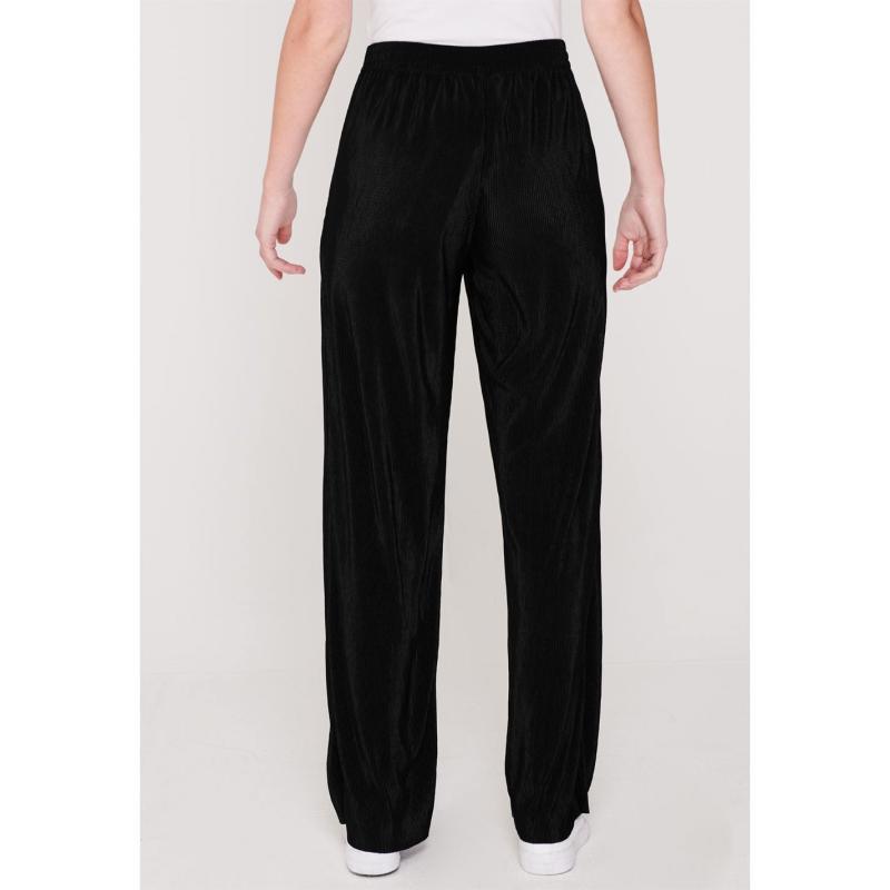 Kalhoty Only Liga Palazzo Pants Black