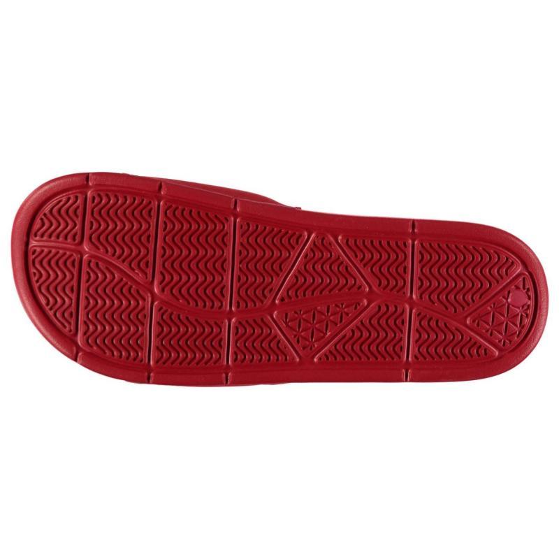 Slazenger Basic Mens Sliders Red/White