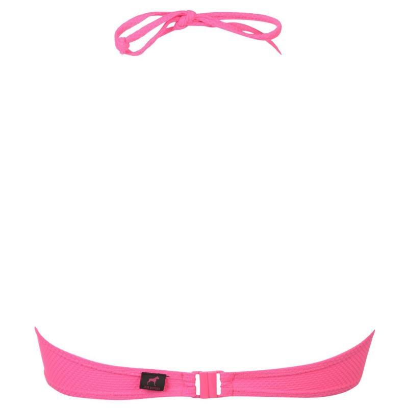 Plavky Joe Boxer Bandeau Bikini Top Ladies Pink