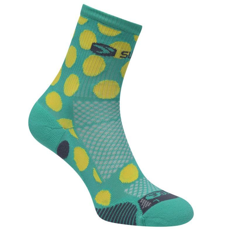 Ponožky Sugoi RSR Quater Socks Green .