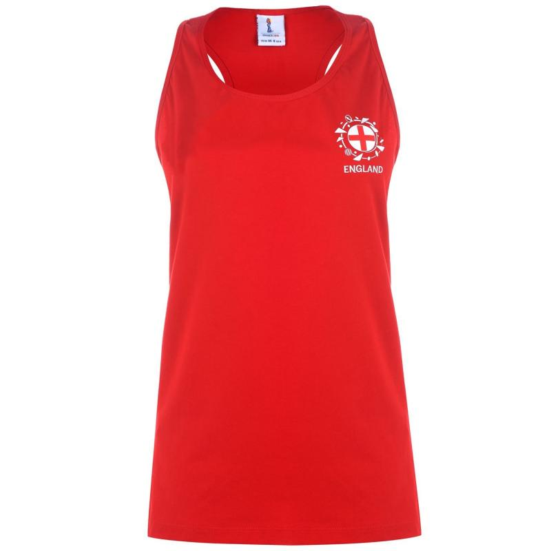 FIFA Womens World Cup England Vest Ladies Red