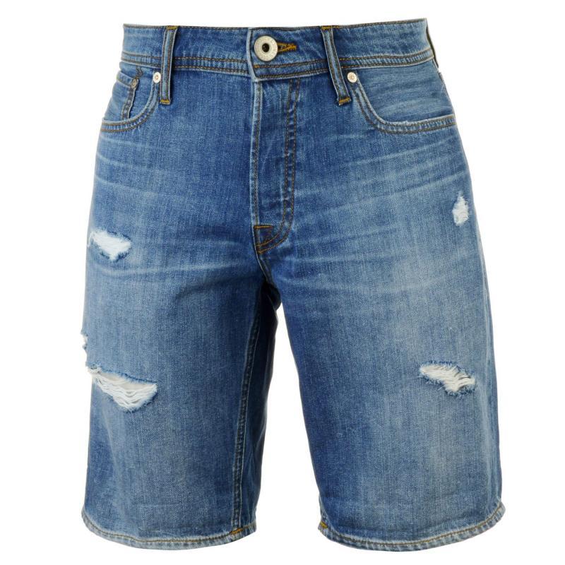 Jack and Jones Jeans Intelligence Rick Denim Shorts Light Wash 825
