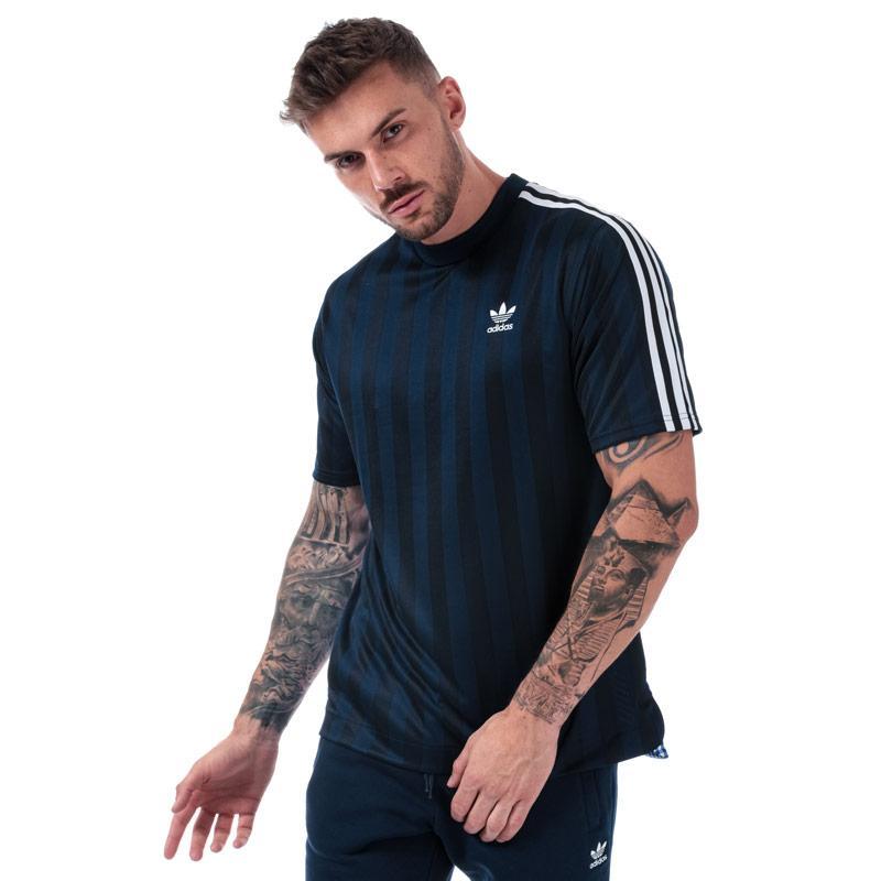 Tričko Adidas Originals Mens B-Side Jersey T-Shirt Navy