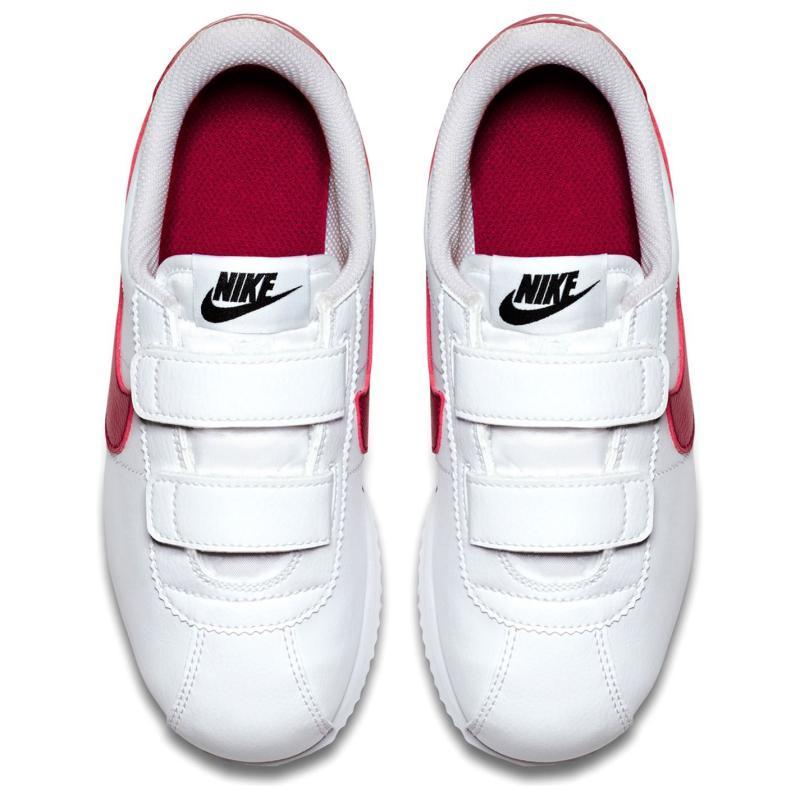Boty Nike Nike Cortez Basic SL (PS) Pre-School Shoe WHITE/VARSITY RED-VARSITY ROYA
