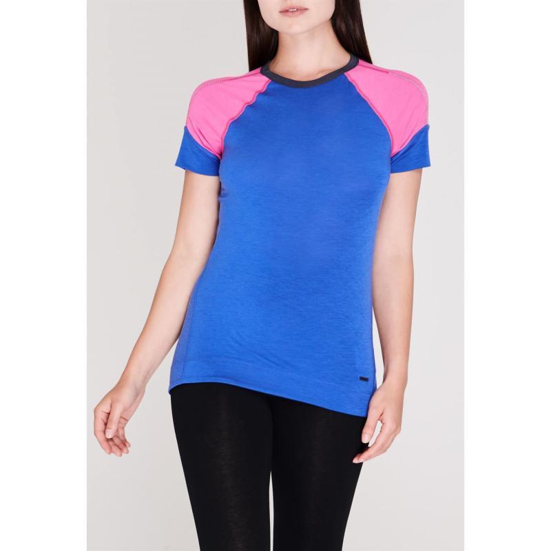 Sugoi Coast Short Sleeve T Shirt Ladies Blue