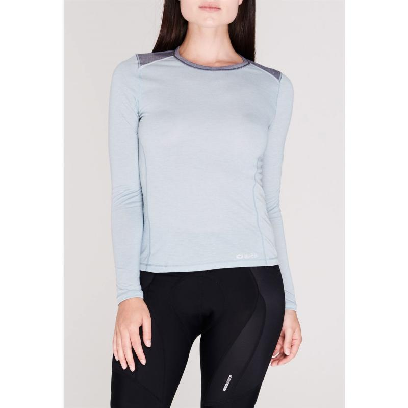Sugoi Verve Long Sleeve T Shirt Ladies Grey