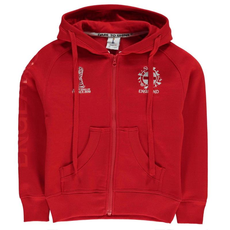 FIFA Unisex World Cup England Hoodie Junior Red