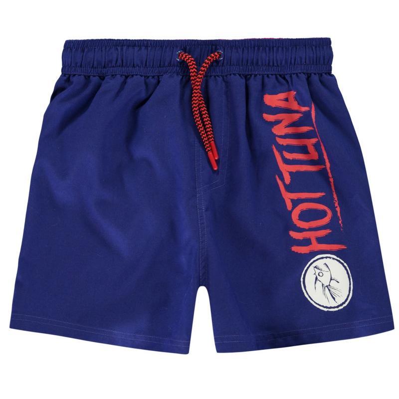 Plavky Hot Tuna Logo Shorts Junior Boys Blue