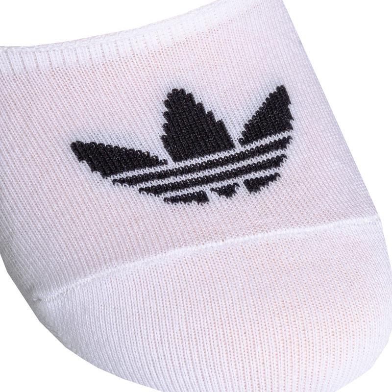 Ponožky Adidas Originals No Show 3 Pack Sock Black-White
