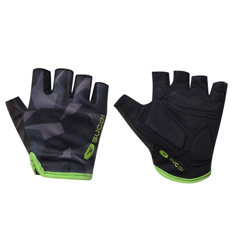 Sugoi Classic Cycling Gloves Black/Print