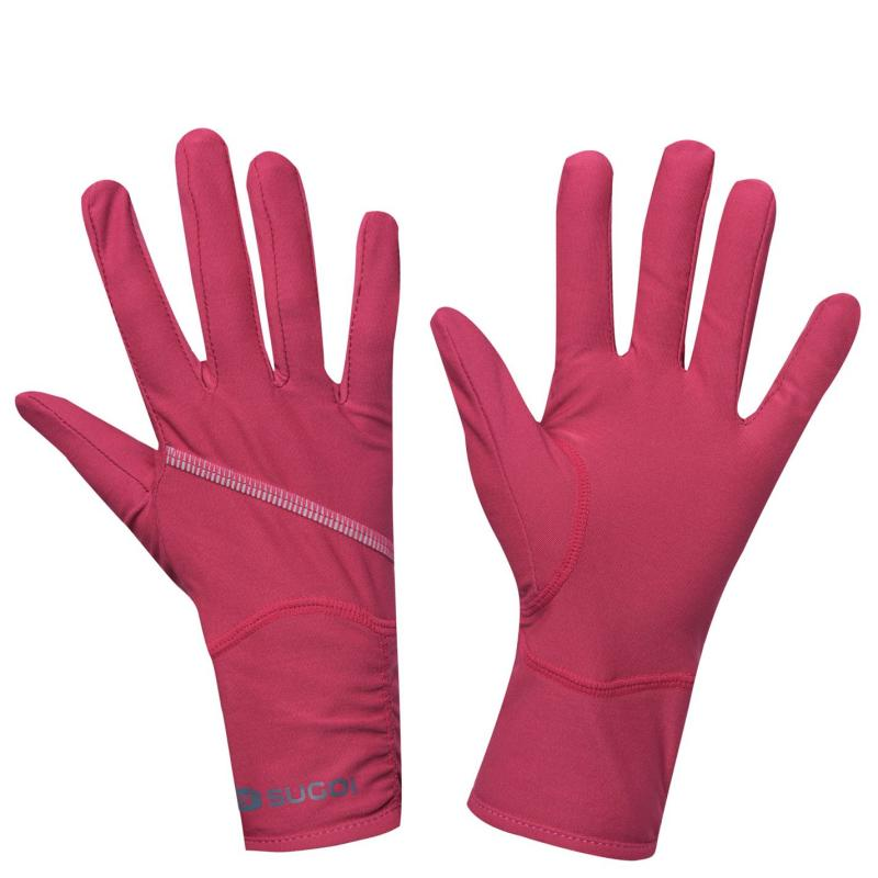 Sugoi Versa Running Gloves Ladies Red