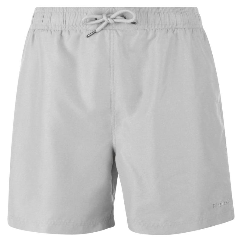 Plavky Firetrap Swim Shorts Mens Grey