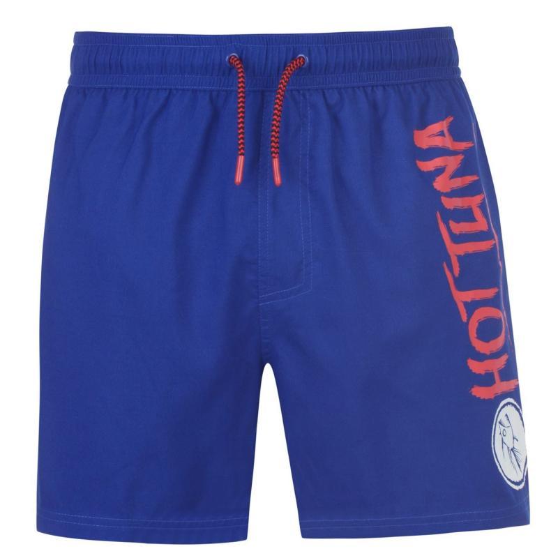 Plavky Hot Tuna Logo Shorts Mens Blue