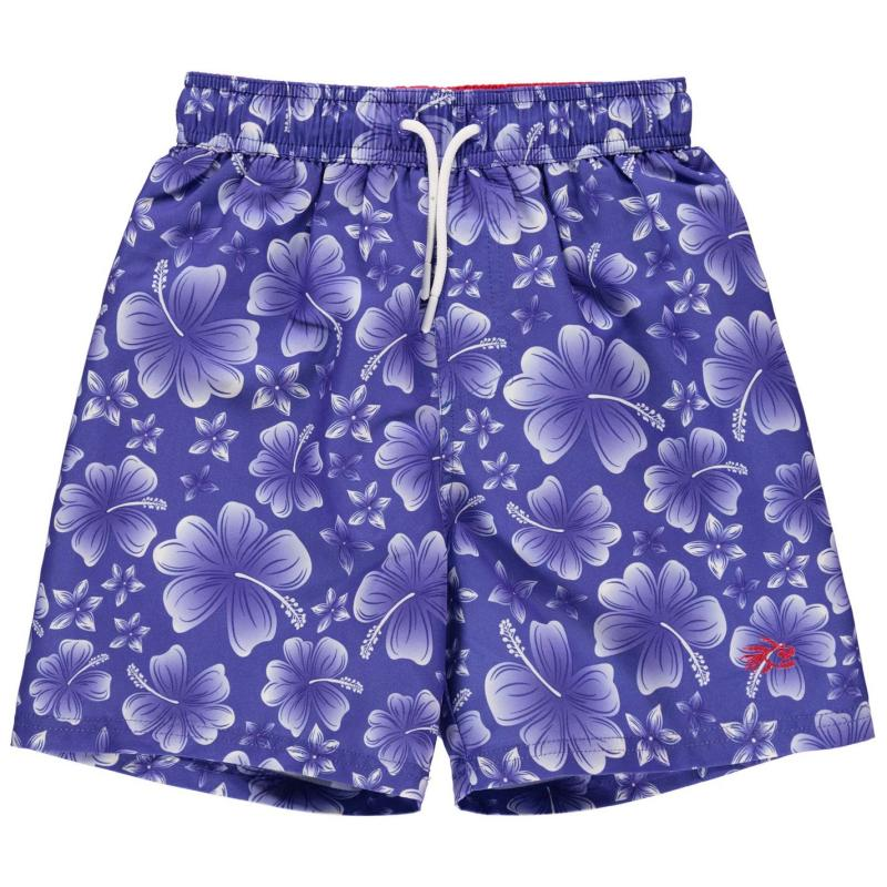 Plavky Hot Tuna Printed Shorts Junior Boys Blue