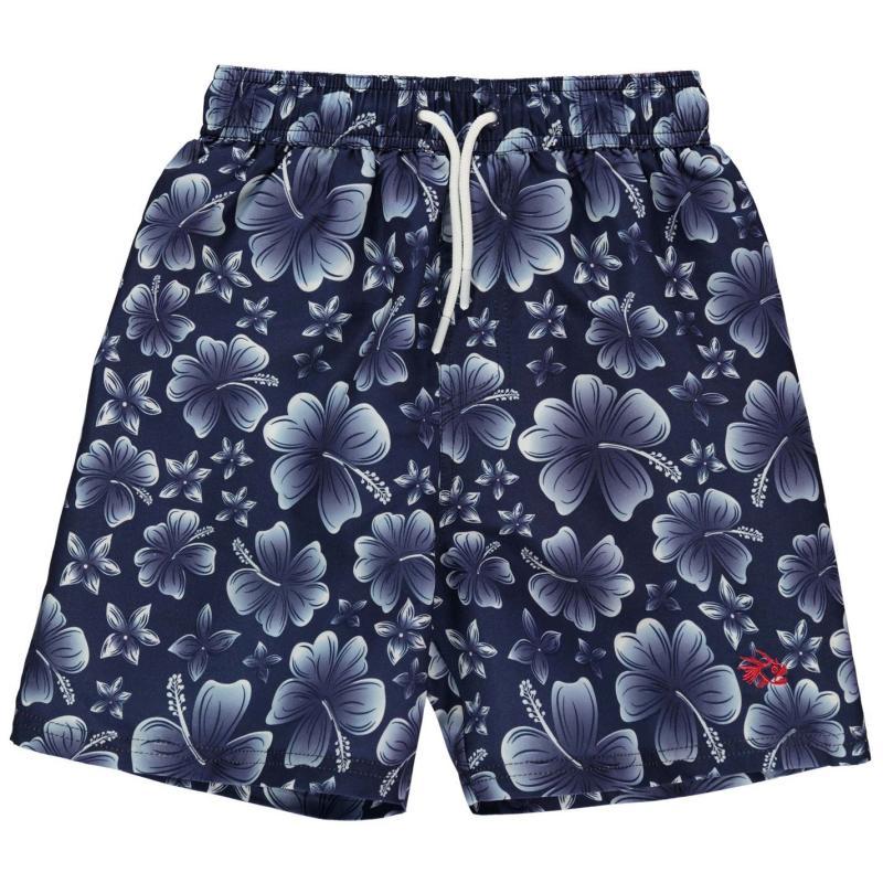 Kraťasy Hot Tuna Printed Shorts Junior Boys Navy