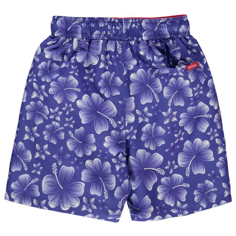 Kraťasy Hot Tuna Printed Shorts Junior Boys Blue