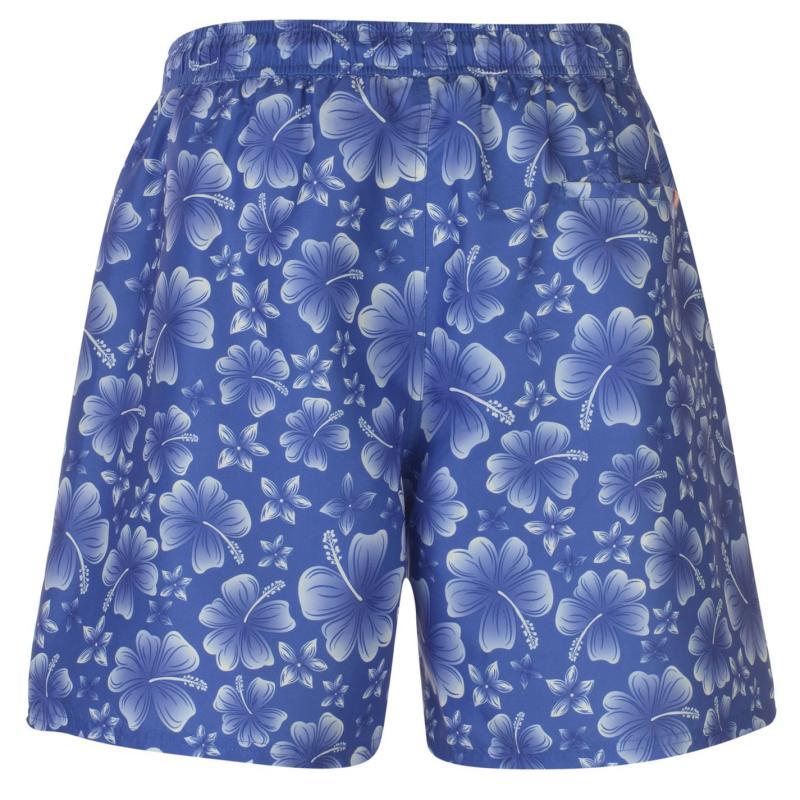 Hot Tuna Printed Shorts Mens Blue/White