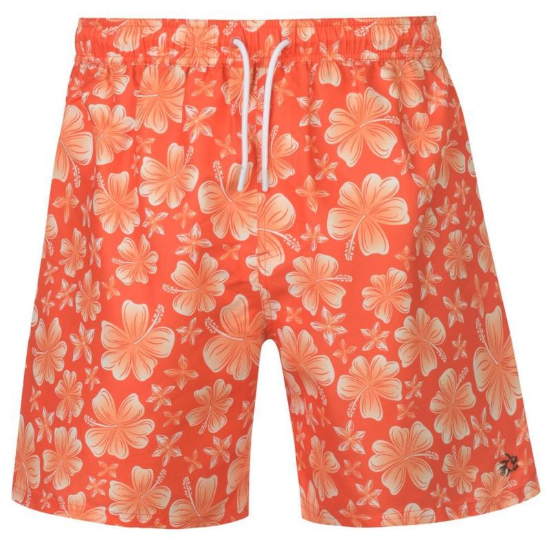 Plavky Hot Tuna Printed Shorts Mens Orange