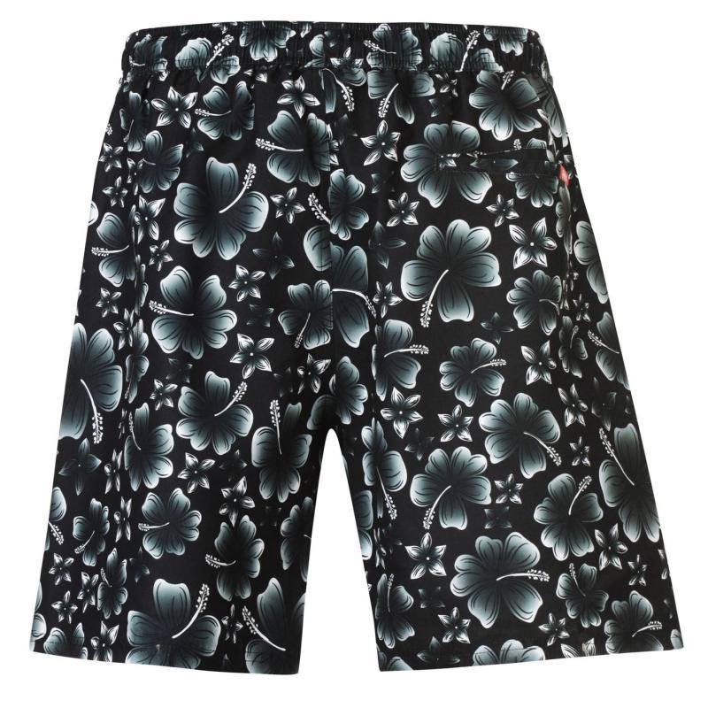 Hot Tuna Printed Shorts Mens Black/Red
