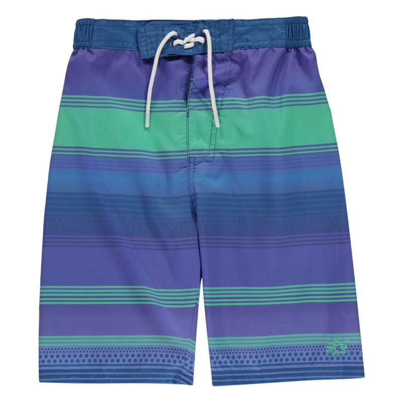 Plavky Hot Tuna Stripe Shorts Junior Boys Blue/Blue