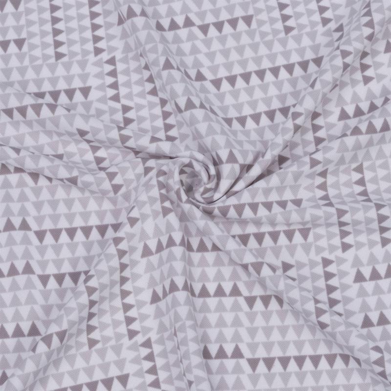 Mikina Lee Cooper Print Hoody Ladies White
