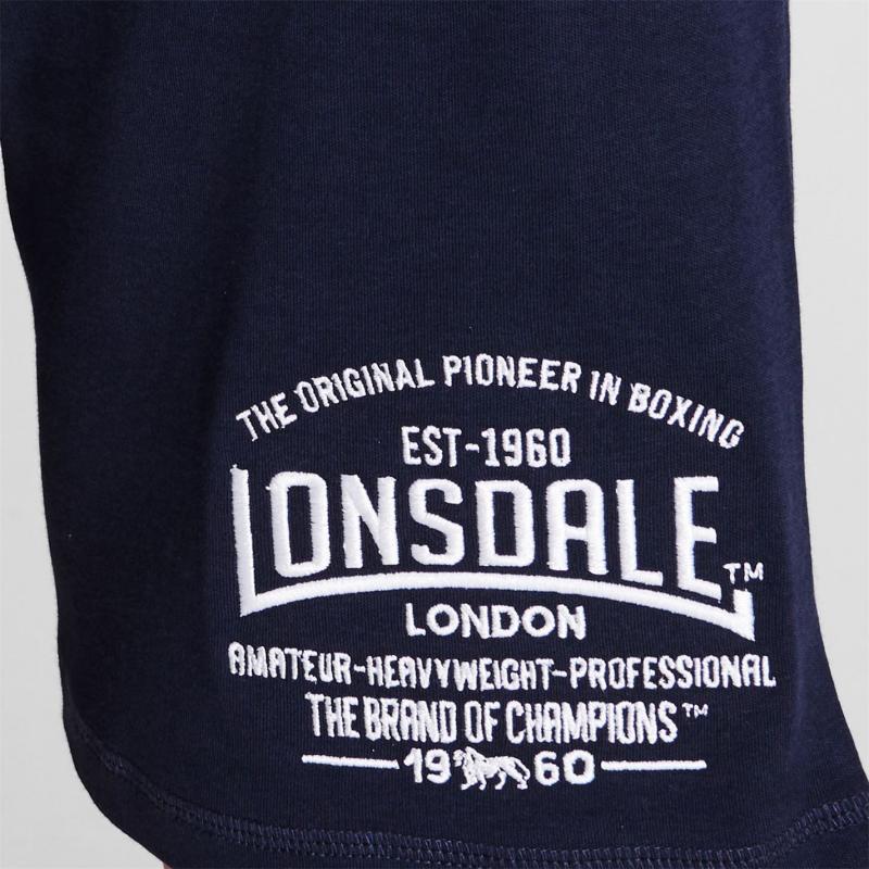 Lonsdale Box Lightweight Shorts Mens Navy