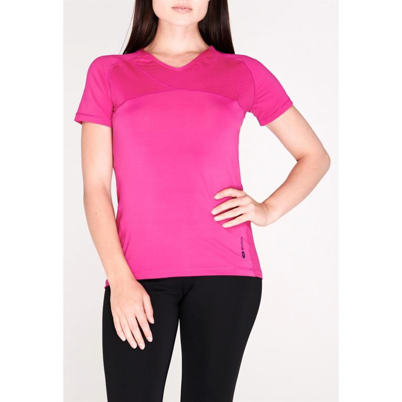 Sugoi Fusion Core Short Sleeve T Shirt Ladies Red